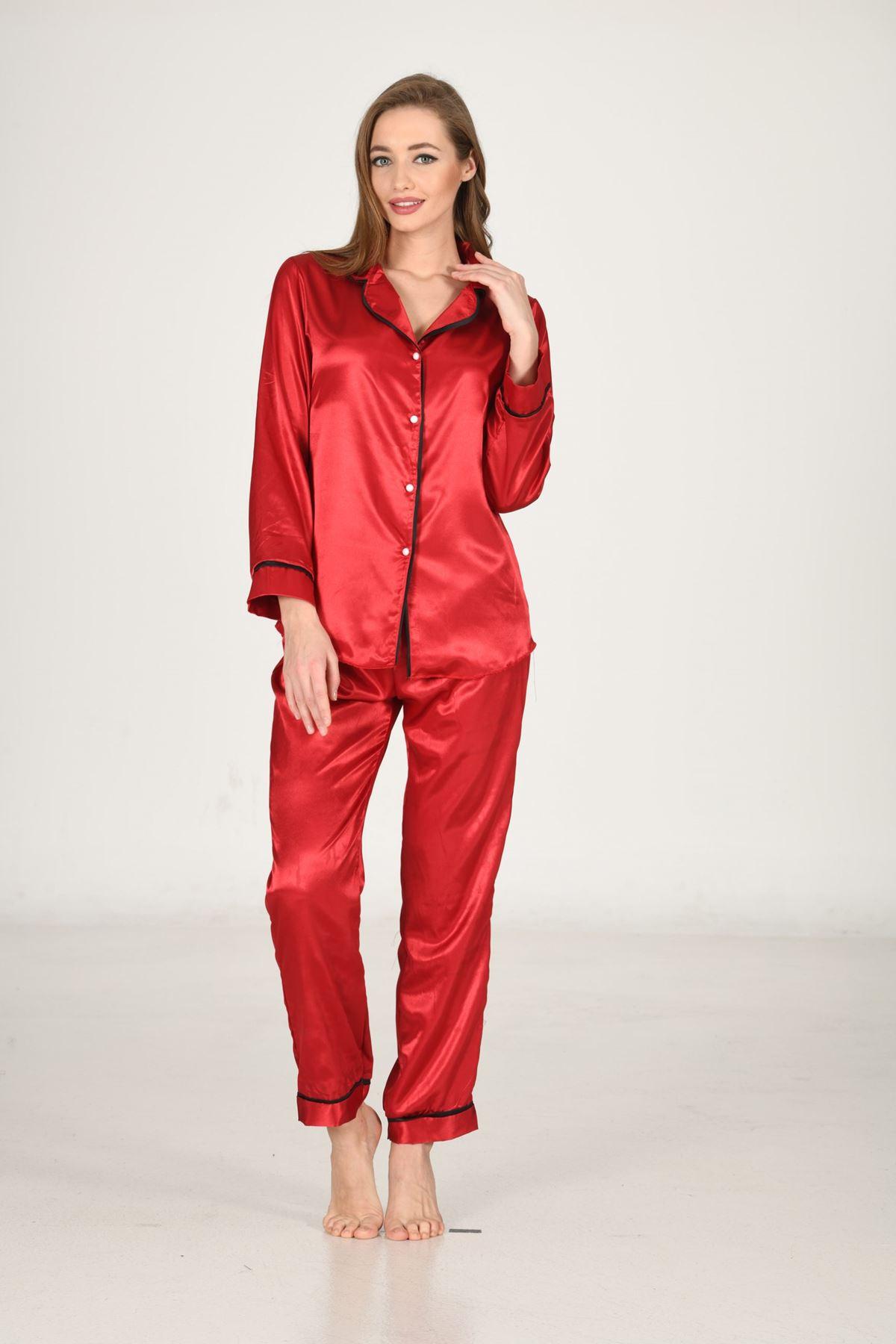 Sistina 1616 Saten Pijama