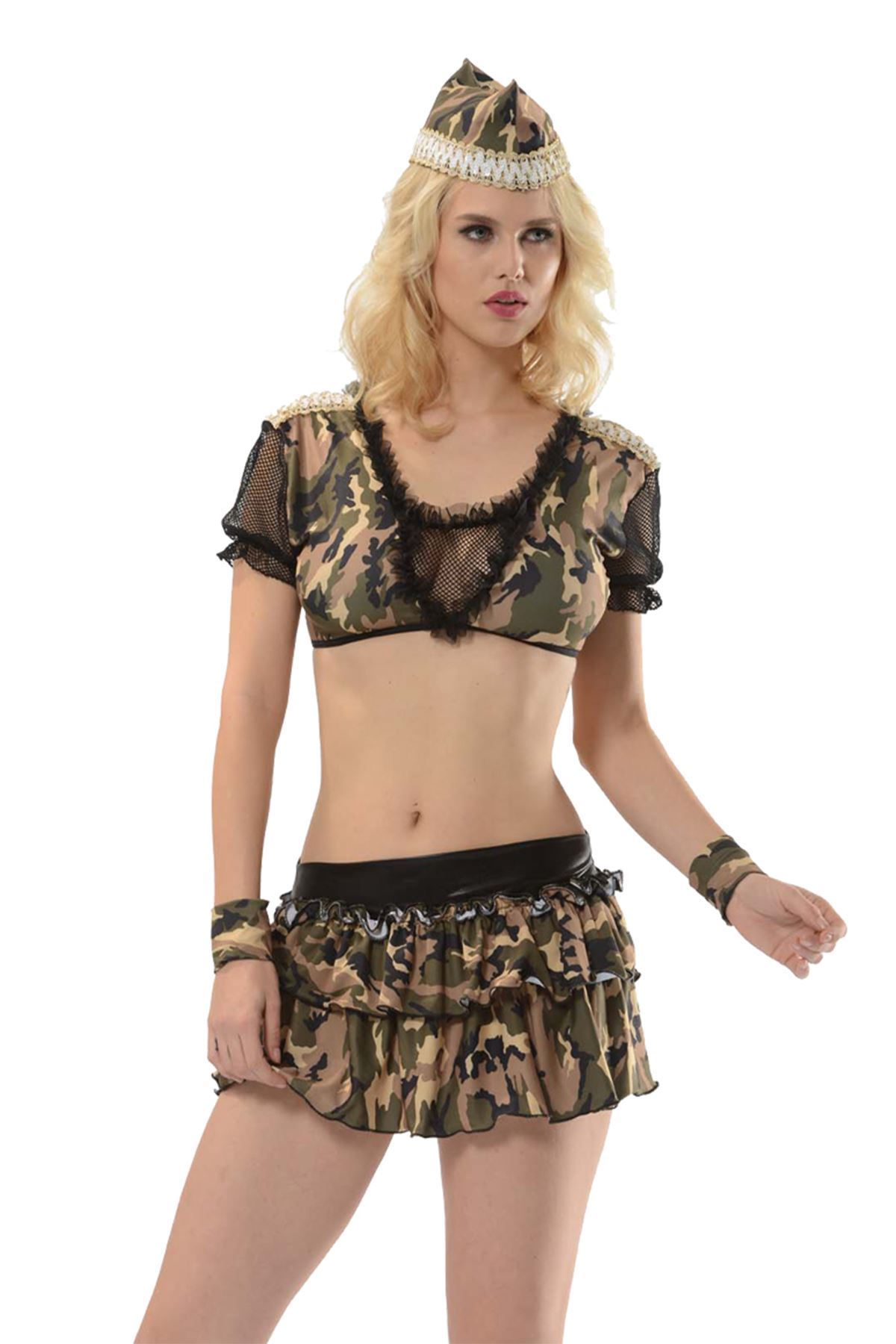 Sistina 4014 Fantazi Asker Kostümü