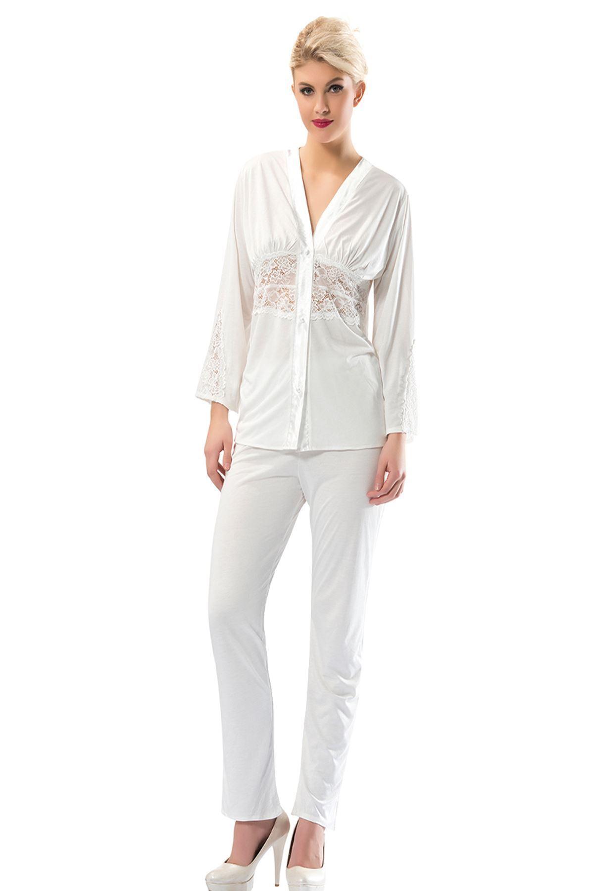 Sistina 1588 Penye Çeyizlik Pijama Takım
