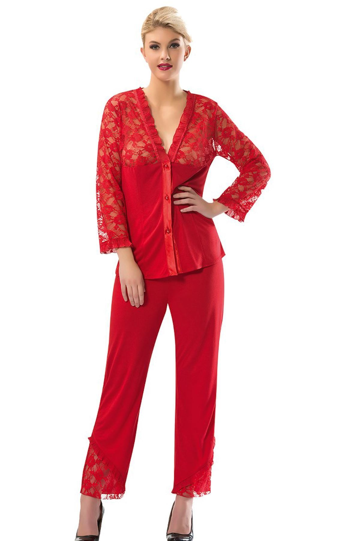 Sistina 1570 penye çeyizlik pijama takım