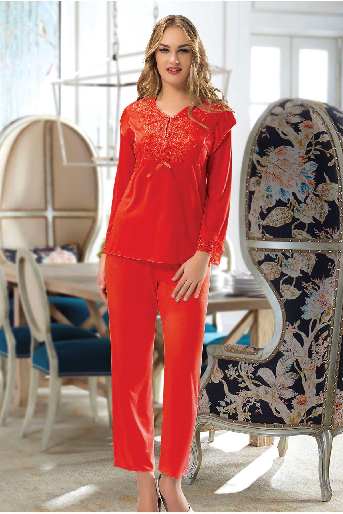 Sistina 1567 Penye Çeyizlik Pijama Takım