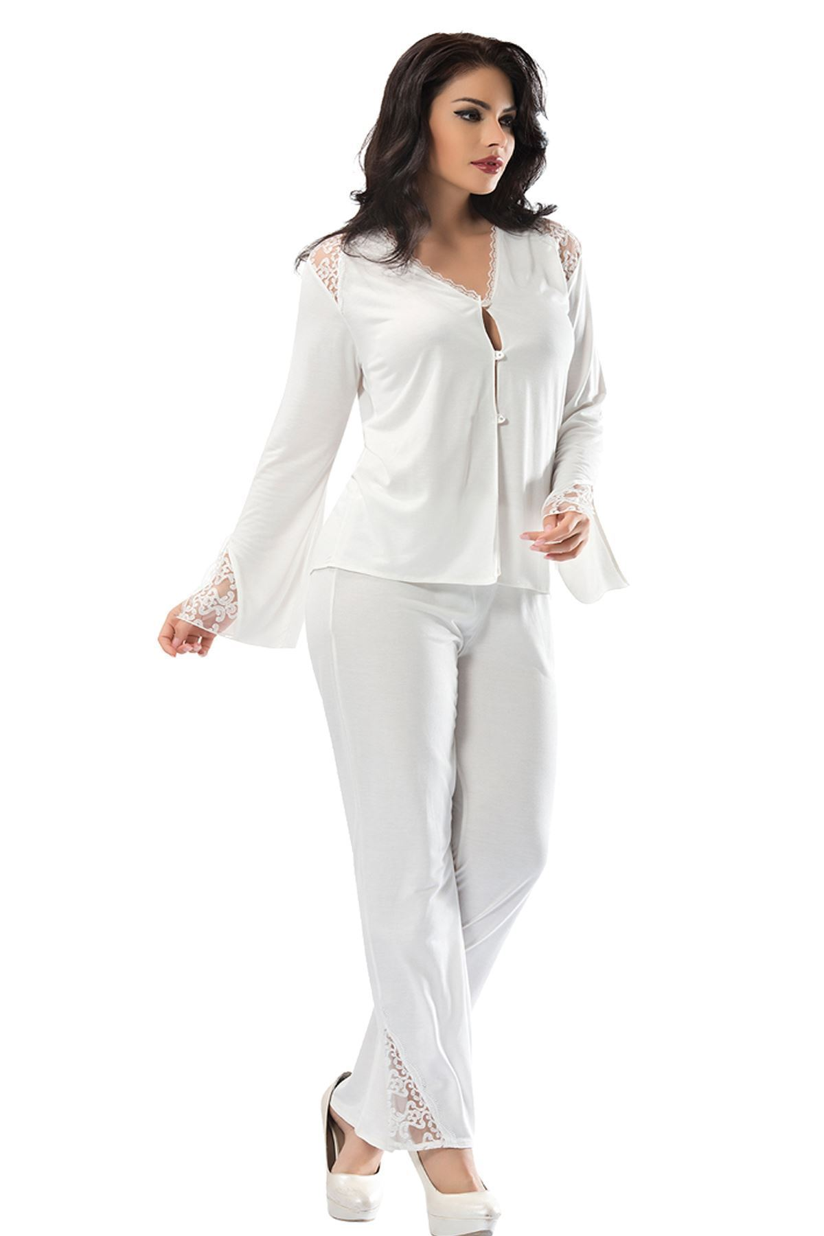 Sistina 1584 penye çeyizlik pijama takım